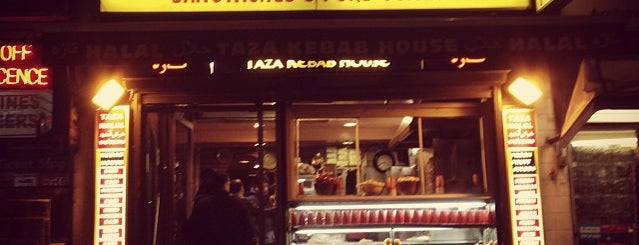 Taza Kebab House is one of Locais curtidos por S.