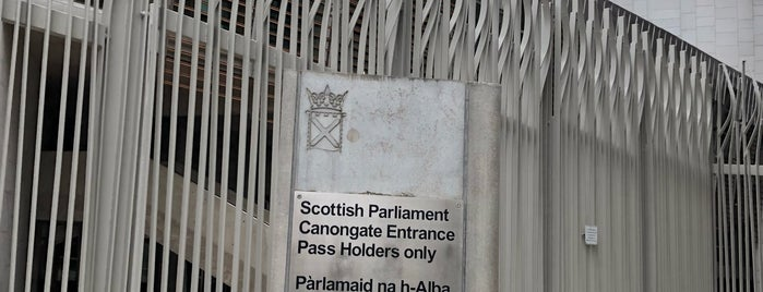 Scottish Parliament is one of Edinburgh.