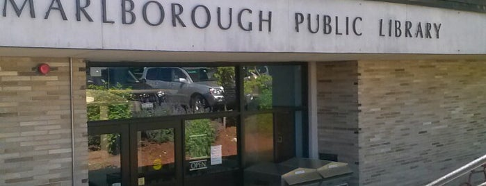Marlborough Public Library is one of To Try.