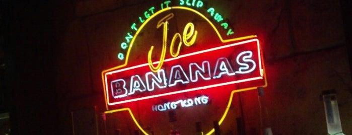 Joe Bananas is one of Bars.