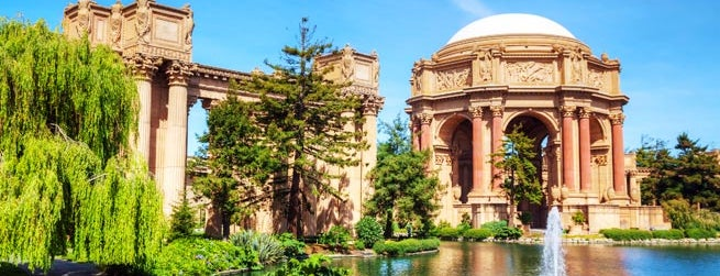Palace of Fine Arts is one of Top 20 Free things to do in San Francisco.
