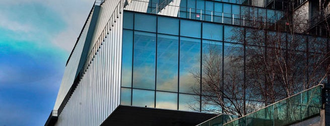 Whitney Museum of American Art is one of 21 Must-See Art Museums in America.