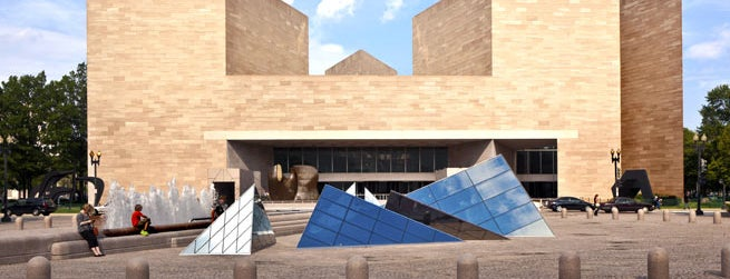 National Gallery of Art is one of 21 Must-See Art Museums in America.