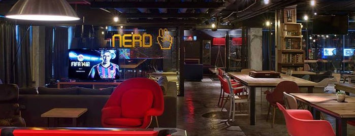 GAME OVER is one of Level up Your Drinking at These 15 Bar-Arcades.