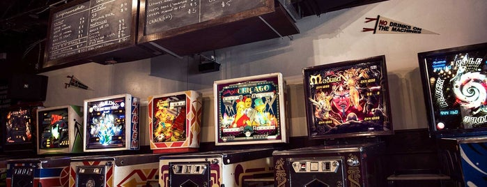 North Star is one of Level up Your Drinking at These 15 Bar-Arcades.