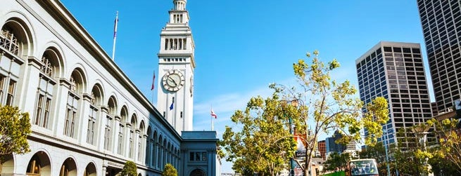 Ferry Building is one of San Francisco.