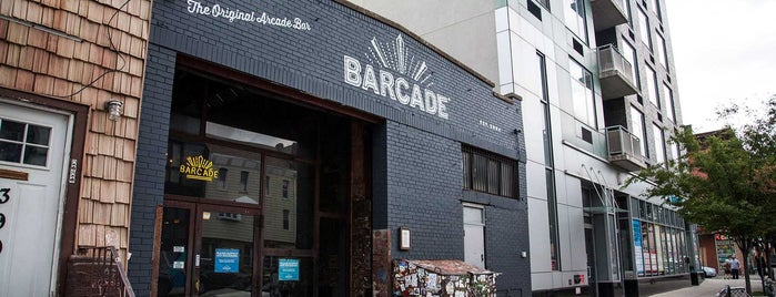 Barcade is one of Level up Your Drinking at These 15 Bar-Arcades.