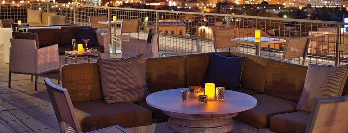 Apothecary Lounge & Rooftop Club is one of 20 Global Cocktail Spots With a View.