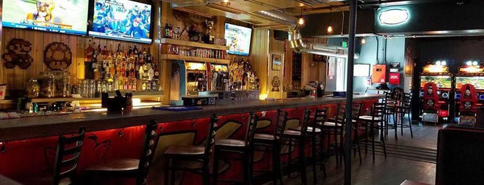 The 1UP Arcade Bar - Colfax is one of Level up Your Drinking at These 15 Bar-Arcades.