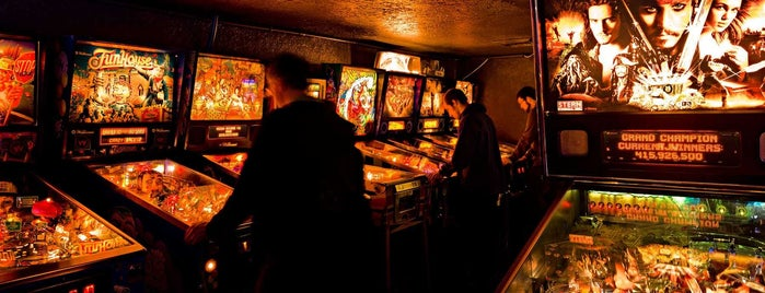 Ground Kontrol Classic Arcade is one of Level up Your Drinking at These 15 Bar-Arcades.