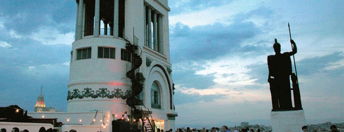 Círculo de Bellas Artes is one of 20 Global Cocktail Spots With a View.