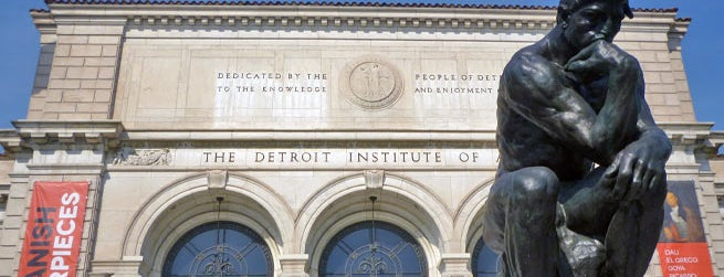 Detroit Institute of Arts is one of 21 Must-See Art Museums in America.