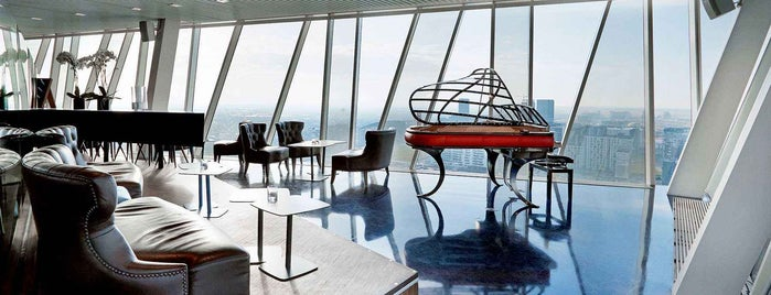 Sky Bar is one of 20 Global Cocktail Spots With a View.