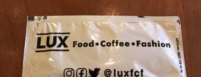 Lux Food Coffee Fashion is one of İzzet 님이 좋아한 장소.