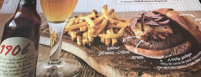 Hamburguesa Nostra is one of los imprescindibles.
