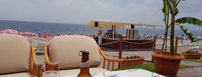 Beach Park Plajı Antalya is one of Posti che sono piaciuti a Şebnem.