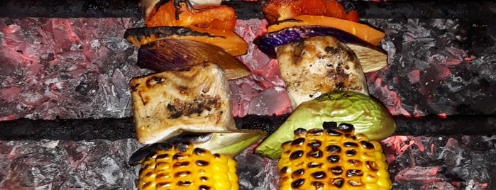 Gili Trawangan Food Night Market is one of Lugares guardados de Anechka.