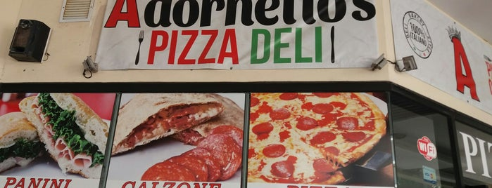 adornetto's pizza is one of Posti che sono piaciuti a Stephraaa.