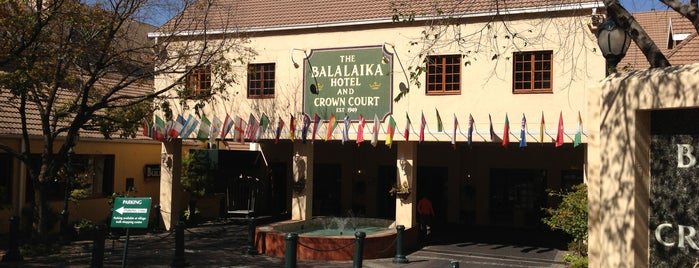Protea Hotel Balalaika is one of Lieux qui ont plu à Alejandro.