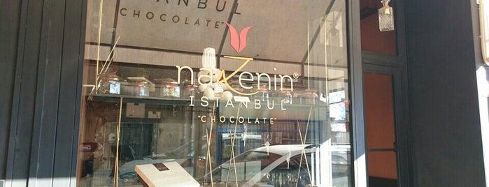 Nazenin İstanbul Chocolate is one of Gespeicherte Orte von Sumru.