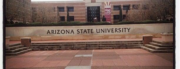Arizona State University - West Campus is one of Tempat yang Disukai Scott.