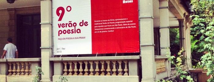 Casa das Rosas is one of Museus e Centros Culturais.