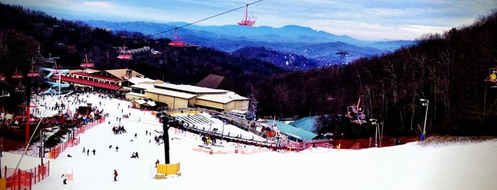 Ober Gatlinburg Ski Resort is one of Debi 님이 좋아한 장소.