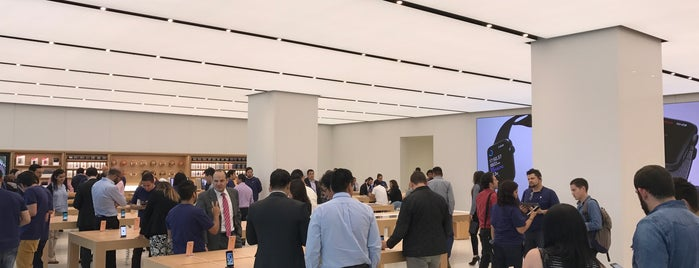 Apple Store is one of Orte, die Fernanda gefallen.