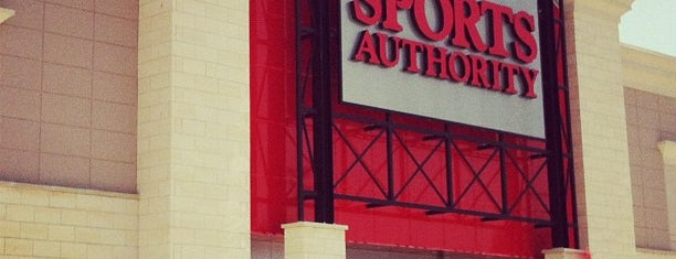 Sports Authority is one of Store.