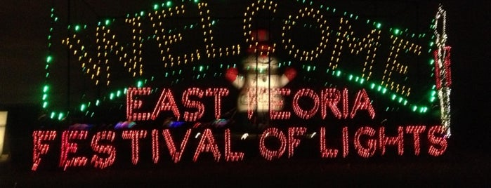 FOLEPI Festival Of Lights (Winter Wonderland) is one of Peoria Places.