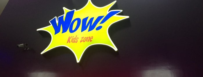 Wow Kids Zone - Lazer Game is one of Lugares favoritos de Adriana.