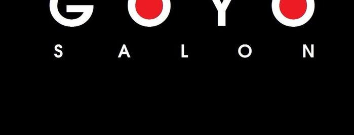 Goyo Salon is one of Locais curtidos por Sebastian.