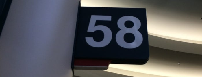 Gate 58A is one of Lugares favoritos de Alberto J S.