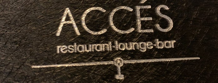 Accés Restaurant Lounge is one of Barcelona.