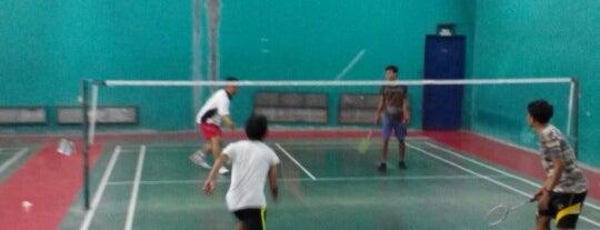 Olympic Badminton, Balai Samudera is one of Lieux qui ont plu à Kemal.