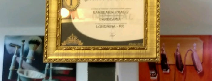 Barbearia Prado is one of Locais curtidos por Cezar.