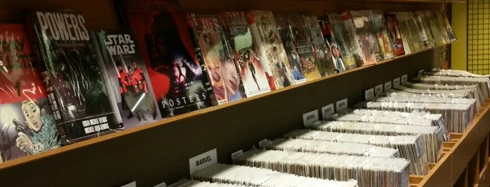 Worlds' End Comicshop is one of Places I frequently visit.