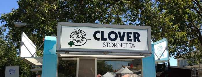 Clover Ice Cream Booth is one of santa Rosa, Cali.