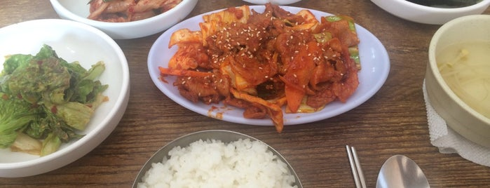가정식떡갈비 is one of Lugares favoritos de choipd.