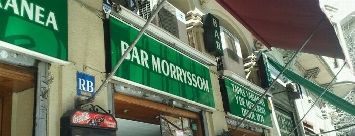 Bar Morryssom is one of A quick trip through Barcelona.
