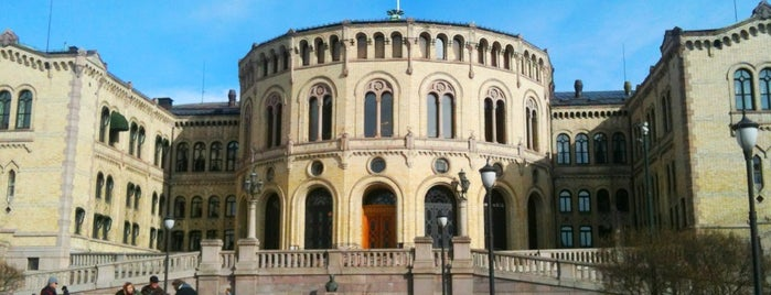 Stortinget is one of Noruega.