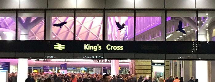 Ж/д вокзал Кингс-Кросс (KGX) is one of Dicle Naz : понравившиеся места.
