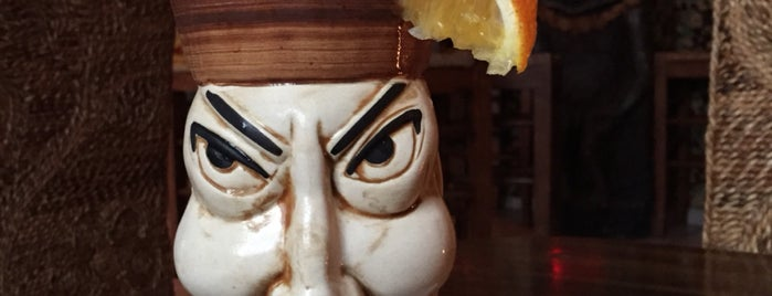 Tiki Taky Bar is one of Locais curtidos por Charles.