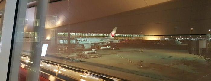 Bandar Udara Internasional Gimpo (GMP) is one of Tempat yang Disukai George.