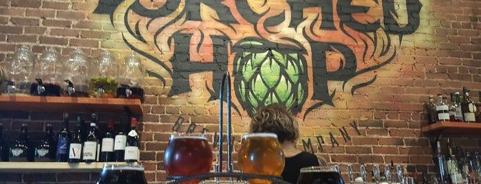 Torched Hop Brewing Company is one of Tempat yang Disukai George.