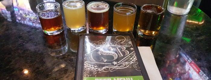 Cool Springs Brewery is one of Tempat yang Disukai George.