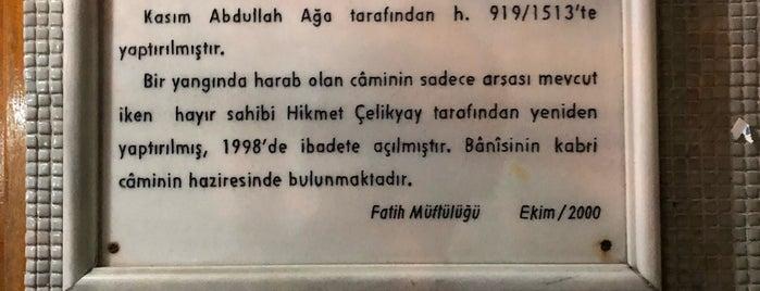 Macuncu Kasım Camii is one of 3-Fatih to Do List | Spiritüel Merkezler.
