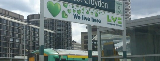 East Croydon Railway Station (ECR) is one of Sad life of train travel.