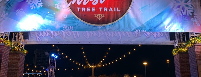 Disney Springs Trail Of Trees is one of Lugares favoritos de Tania.