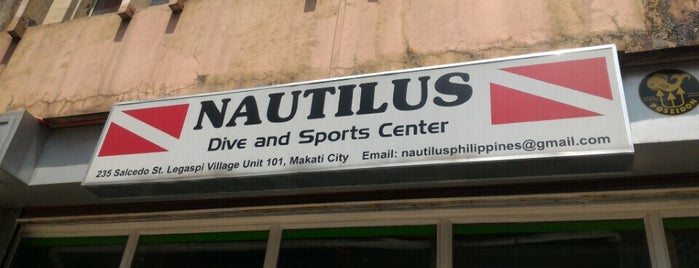 Nautilus Dive & Sports Center is one of Lieux qui ont plu à Shank.